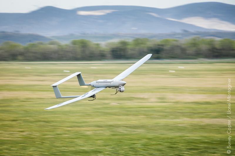 Survey Copter, société française fabriquant des drones à vocation civile et militaire